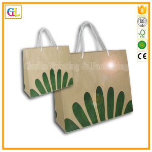 Custom Logo Printing Kraft Paper Bag (OEM-GL-001) pictures & photos