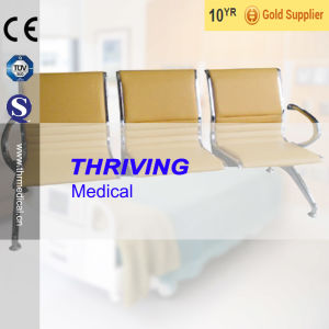 Low-Price Stainless Steel Hospital Waiting Chair with Cushions (THR-YD1033) pictures & photos