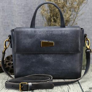 2017 Latest Design Ladies Bags Small Size Real Leather Women Handbag Wholesale in China Emg5211 pictures & photos