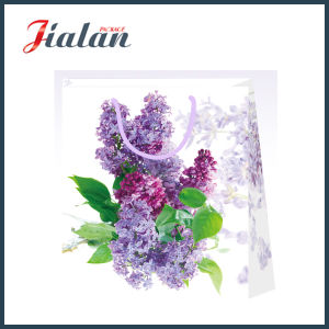 Custom Wholesale Flowers Printed Gift Packing Shopping Paper Gift Bags pictures & photos