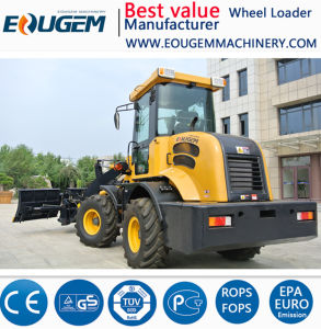 Eoguem Zl12 1.2ton Mini /Small Wheel Loader Farm Loader in China pictures & photos