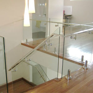 Outdoor Tempered Laminated Glass Railing Balcony Frameless Glass Balustrade pictures & photos