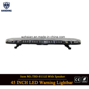 Whelen Style LED Lightbar with Speaker pictures & photos