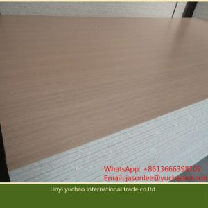 18mm Wooden Grain Melamine Particleboard for Office Desk pictures & photos