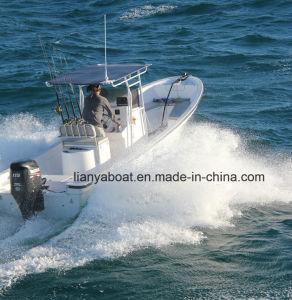 Liya 7.6m Fiberglass Boat Panga Boat China for Sale pictures & photos