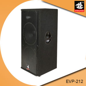 Dual 12 Inch Professional PA System Wooden Passive Lounds Speaker pictures & photos