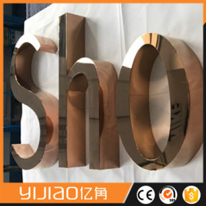 Laser Cutting Stainless Steel Letters with Long Lifespan pictures & photos