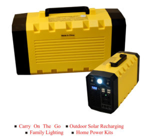 100ah UPS Battery Pack for Backup Power Supply DC 5V/12V AC Converter and Radiator in China with Stock pictures & photos