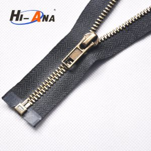 Over 20 Years Experience High Quality Metal Zipper for Jeans pictures & photos
