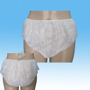 Good Quality Disposable Cotton Underwear 2015 pictures & photos