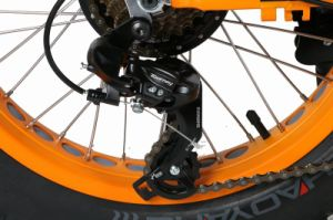 48V 500W Folding Electric Fat Bike pictures & photos