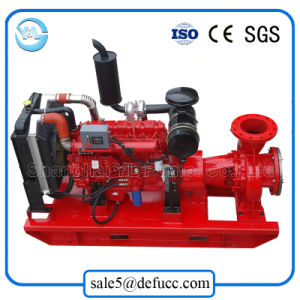 Diesel Engine Back Pull out End Suction Horizontal Fire Pump pictures & photos