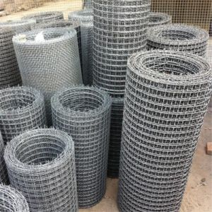 Electric Galvanized Crimped Wire Mesh pictures & photos