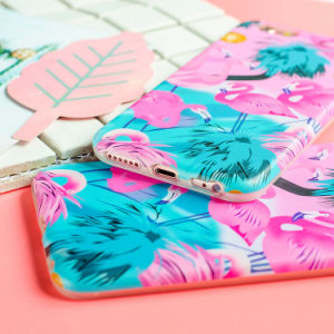 Hot Fashion Cute Cartoon Pink Flamingo Soft Phone Case for iPhone pictures & photos