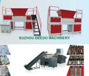 Single Shaft Fabrics Wood Bags Film Pipes Shredder pictures & photos