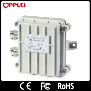 CAT6 Poe SPD Shielded Waterproof Gigabit 1000Mbps Surge Arrester pictures & photos