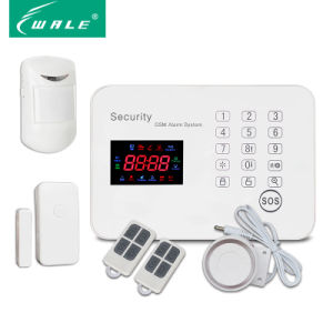 New Color Screen Wireless Touch Keypad GSM Alarm System pictures & photos