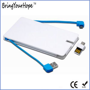 4000mAh Card Design Power Bank with OTG USB Stick (XH-PB-254) pictures & photos