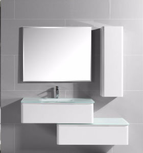 2017 Qilong Hot Selling PVC Bathroom Cabinet with Shelf pictures & photos