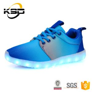 Wholesale USB Charging LED Sport Shoes Wish Mesh for Men and Women pictures & photos