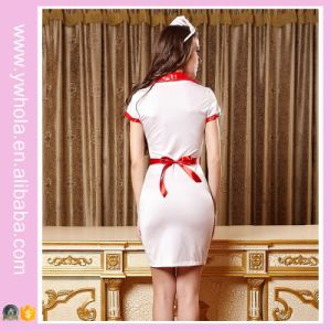 2016 Hotel Staff Uniform House Maid Christmas Costume Lingerie for Women pictures & photos
