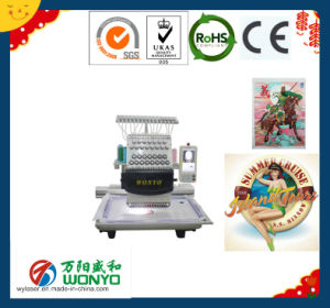 High Speed Single Head Cap & Domestic DIY T-Shirt Embroidery Machine, pictures & photos