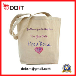 Customized Logo Promotional Gift Foldable Tote Cotton Canvas Shopping Bag pictures & photos