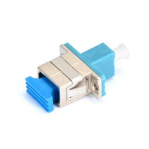 Sc to LC Hybrid Simplex Metal/Plastic Fiber Optic Adapter pictures & photos
