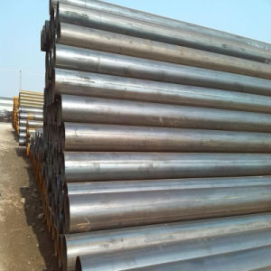 Carbon Steel Bevelled Ends ERW Steel Pipe Use for Transportation pictures & photos