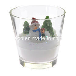 Scented Soy Christmas Candle in Glass pictures & photos