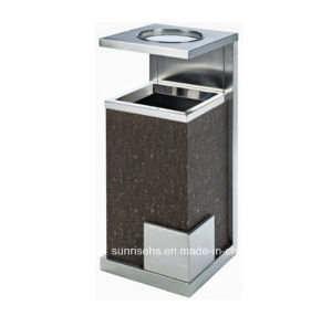 Nice Design Hotel Lobby Stainless Steel Ashtray Bin pictures & photos