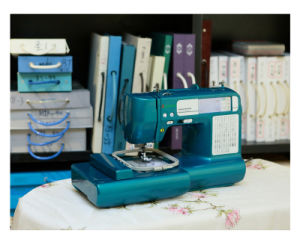 Small Household Embroidery and Sewing Machine Wy1300 in China pictures & photos