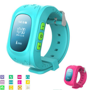 Gelbert High Quality Q50 GPS Lbs Kids GPS Smart Watch pictures & photos