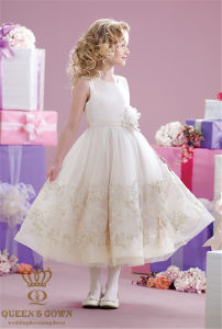 New Sweet Wedding Flower Girl Dress pictures & photos