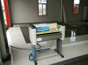Manually Operated Car Mat Washer Machine pictures & photos
