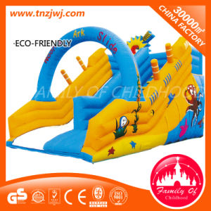 Kid Air Inflation Outdoor Slide Inflatable Toy Bouncer pictures & photos