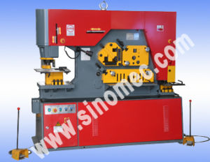 Hydraulic Ironworker Shearing and Punching Machine Q35y-25 pictures & photos