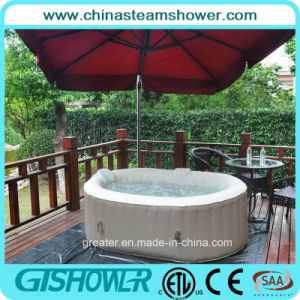 2 Person Inflatable Outdoor Jacuzzi Hot SPA (pH050012 Coffee) pictures & photos