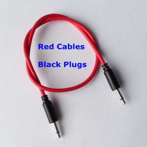3.5mm Mono Jack Patch Cable for Modular Systems pictures & photos
