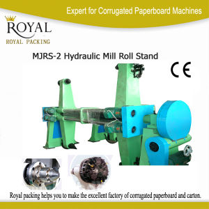 Two Rolls Paper Stand up Machine Roll Stand pictures & photos