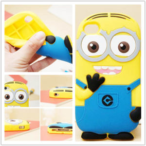 Factory Direct Sale Minions Heavy Duty Silicone Case for iPod Touch 6 Silicone Cases pictures & photos