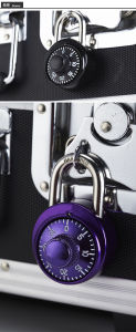 48mm Aluminum Alloy Housing Combination Dial Padlock (1501) pictures & photos