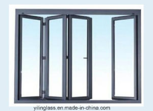 Double Glazed Folding Aluminium Door pictures & photos