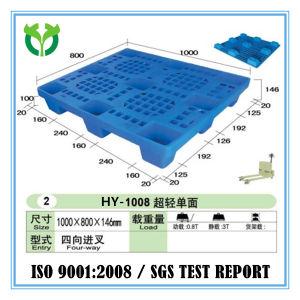 Size L: 1000*W: 800 Light Duty Single Face Nine Feet Plastic Pallet