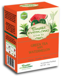 Watermelon Flavored Green Tea Pyramid Tea Bag Premium Blends Organic & EU Compliant (FTB1501) pictures & photos