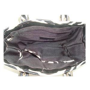 Zebra Pattern PU Handbag with Foam Padded pictures & photos