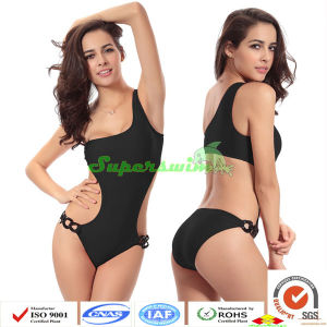 Women One-Piece Swimwears Sexy Cutting