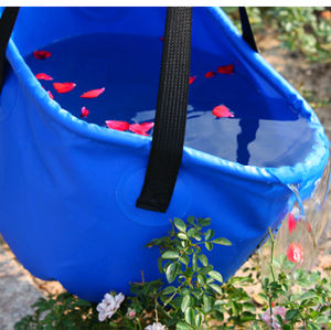Outdoor Folding Water Bucket Hydration Bag Camping Hiking Washbasin Bucket pictures & photos