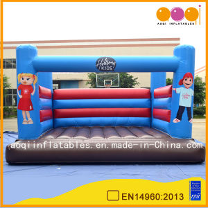 Happy Boy and Girl Inflatable Bouncer (AQ2154-2) pictures & photos