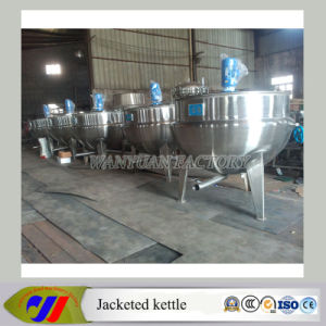 Stainless Steel Vertical Steam Heating Cooking Pot pictures & photos
